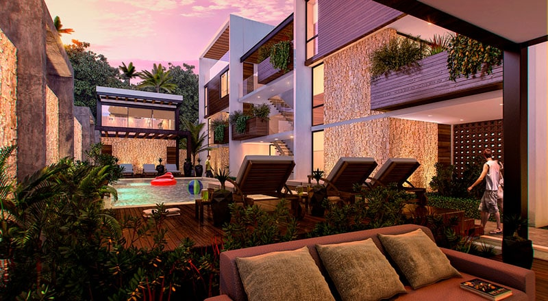 mareas luxury condos tulum 2 bedroom11