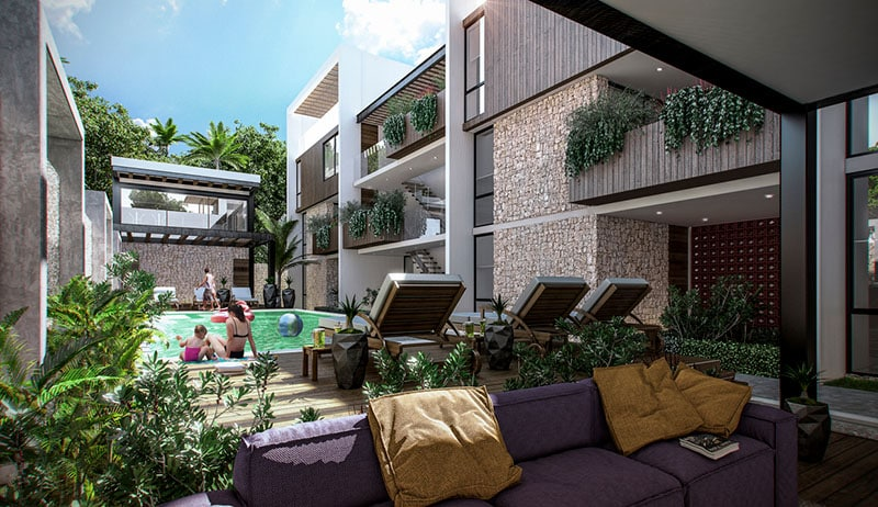mareas luxury condos tulum 2 bedroom8