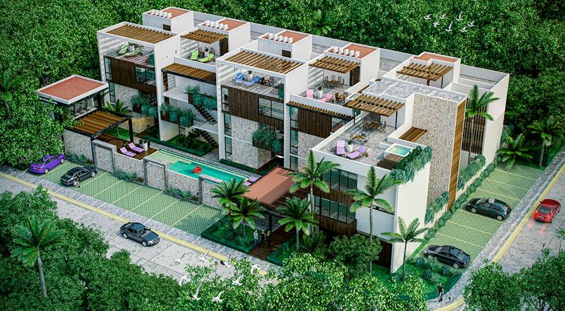 mareas luxury condos tulum 3 bedroom3