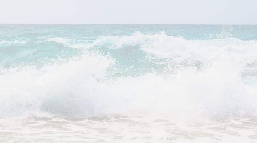 Beach Stock White Overlay