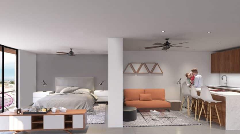 1540 playa del carmen 2 bedroom condo 2