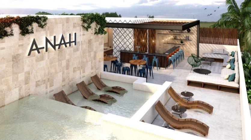 Anah Quinta Playa Del Carmen 3 bedroom Penthouse5