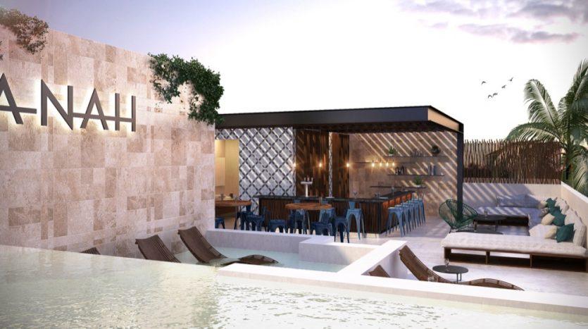 Anah Quinta Playa Del Carmen 3 bedroom Penthouse7