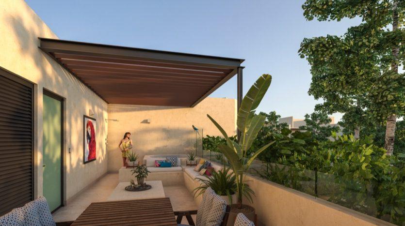 Costa Caribe Tulum 2 bedroom condo10