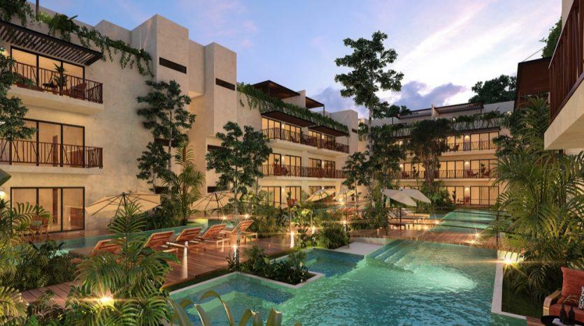 Costa Caribe Tulum 2 bedroom condo2
