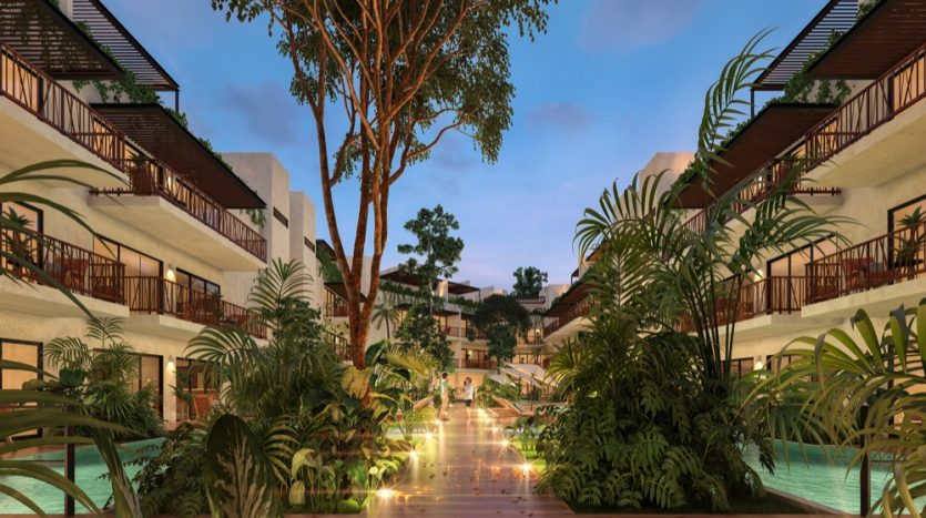 Costa Caribe Tulum 2 bedroom condo8