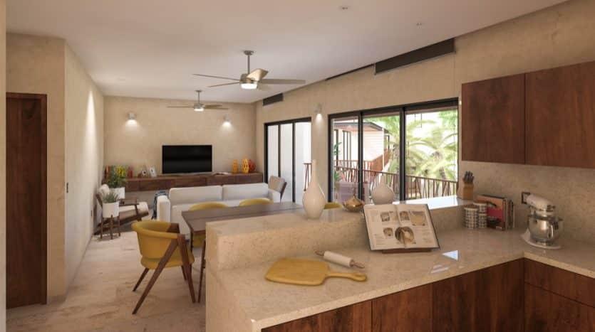 Costa Caribe Tulum 2 bedroom condo9