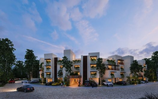 Costa Caribe Tulum 3 bedroom penthouse1