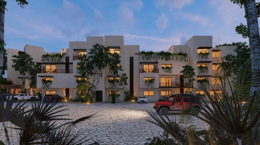 Costa Caribe Tulum 3 bedroom penthouse3