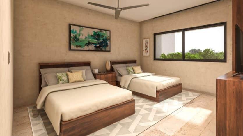 Costa Caribe Tulum 3 bedroom penthouse4
