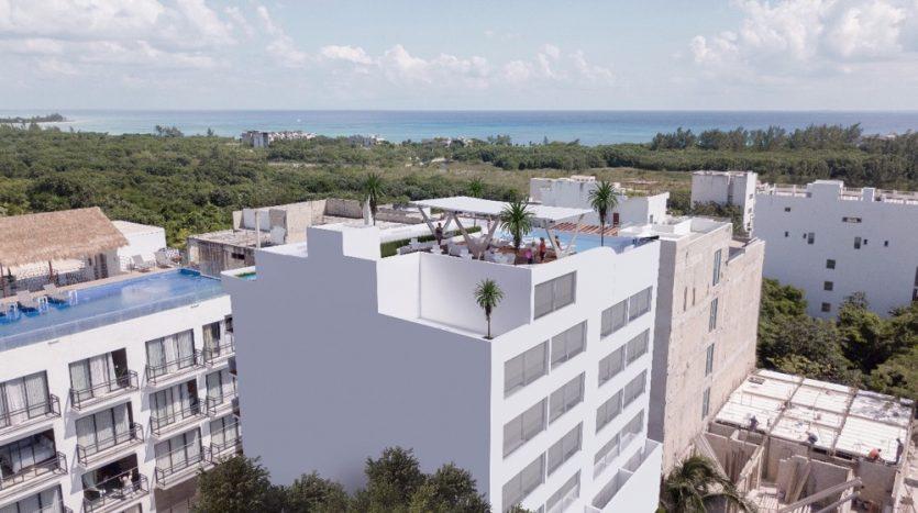 Del Karibe 51 Playa Del Carmen 1 bedroom condo0