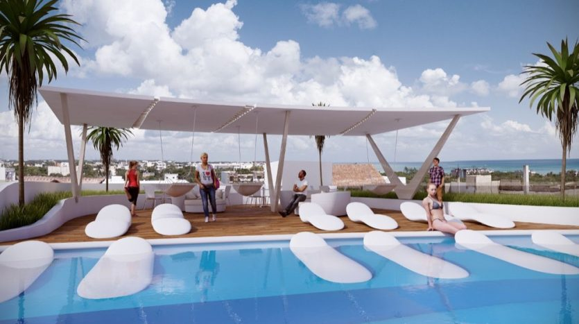 Del Karibe 51 Playa Del Carmen 3 bedroom penthouse2