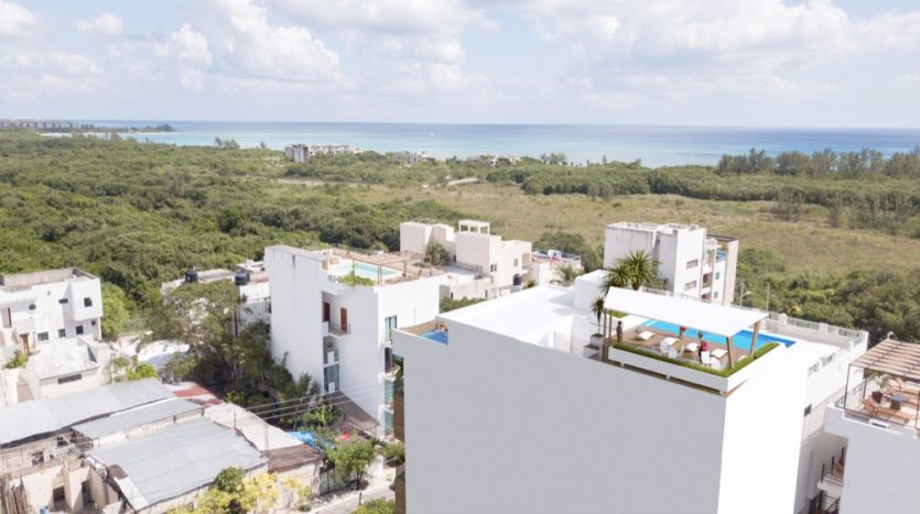 Del Karibe Exclusive Playa Del Carmen 1 bedroom condo0
