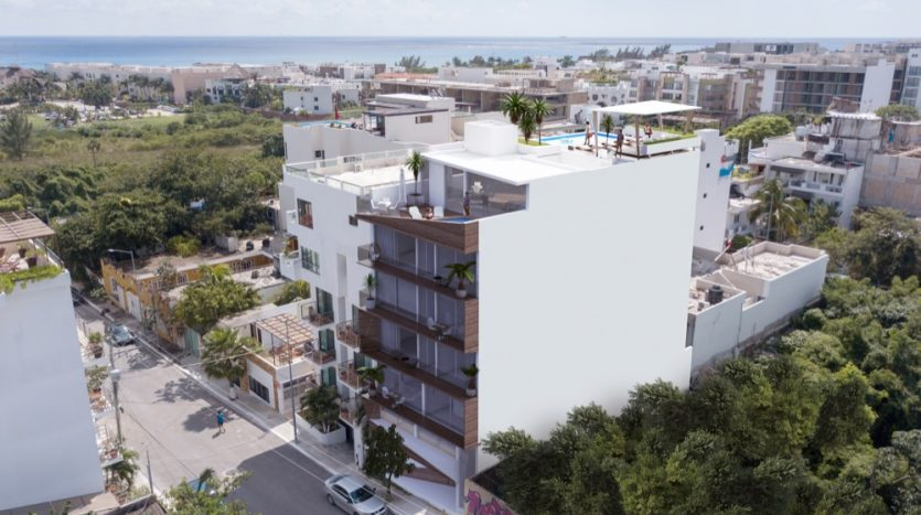 Del Karibe Exclusive Playa Del Carmen 1 bedroom condo1