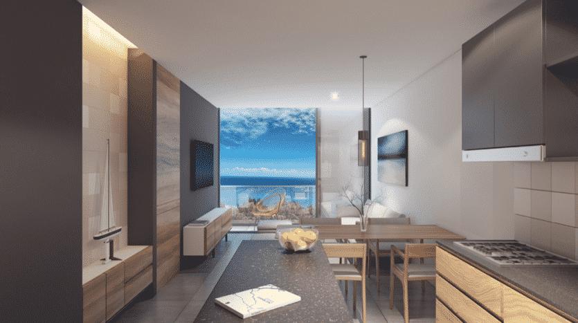 Kaab South Beach Playa del Carmen 1 bedroom condo11