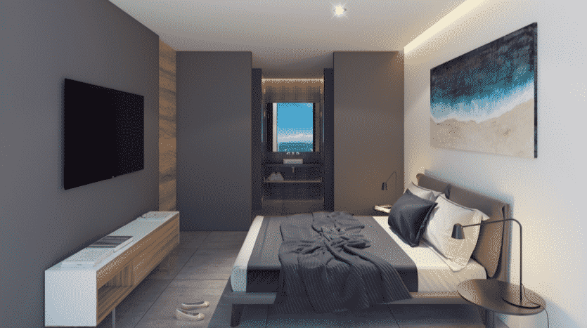 Kaab South Beach Playa del Carmen 1 bedroom condo12