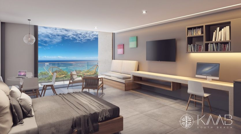 Kaab South Beach Playa del Carmen 1 bedroom condo14