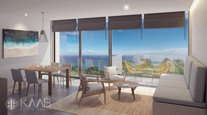 Kaab South Beach Playa del Carmen 1 bedroom condo15