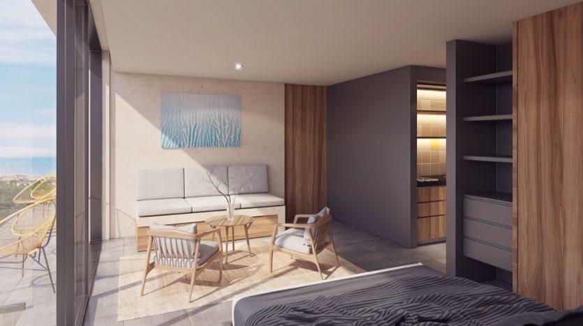 Kaab South Beach Playa del Carmen 2 bedroom condo0