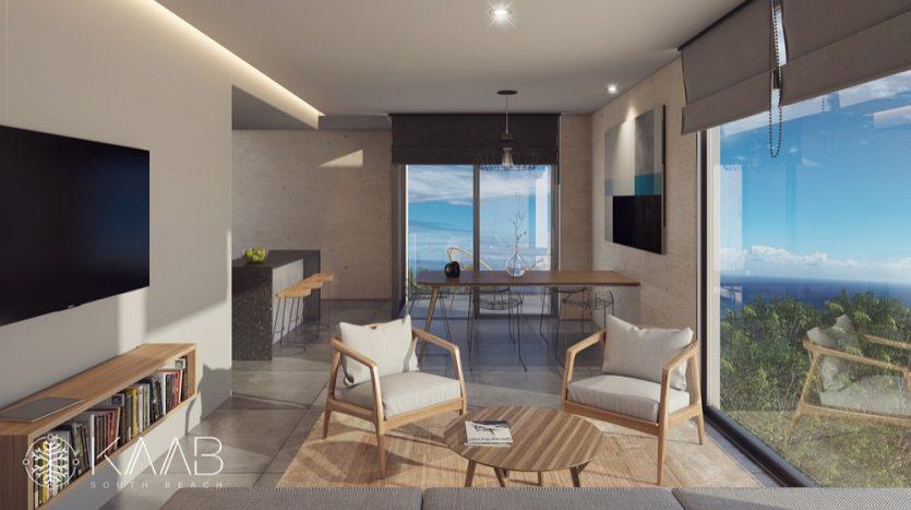 Kaab South Beach Playa del Carmen 2 bedroom penthouse16
