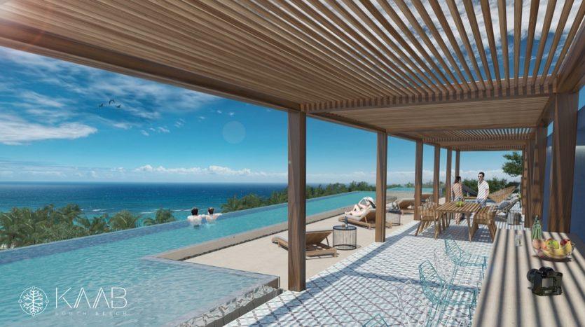 Kaab South Beach Playa del Carmen 2 bedroom penthouse17