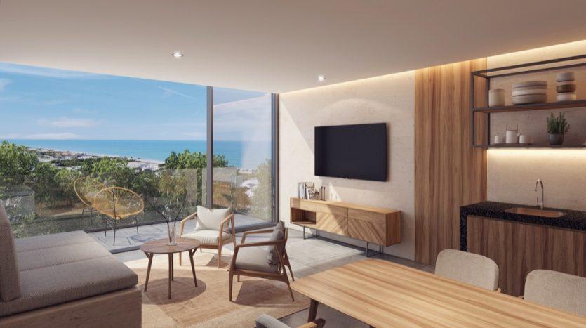 Kaab South Beach Playa del Carmen 2 bedroom penthouse3