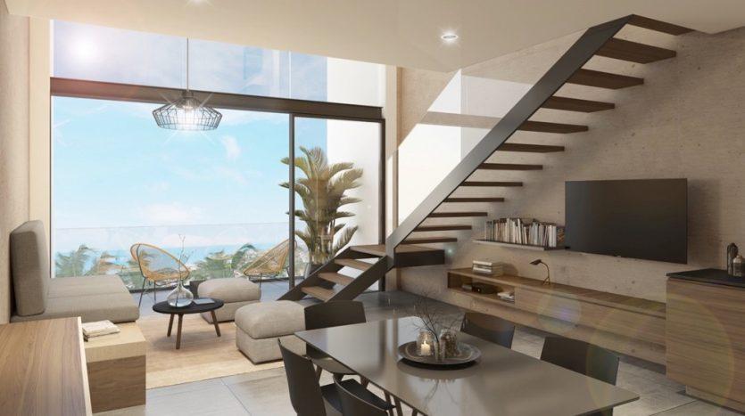 Kaab South Beach Playa del Carmen 2 bedroom penthouse6