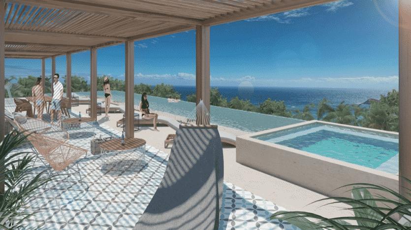 Kaab South Beach Playa del Carmen 2 bedroom penthouse8