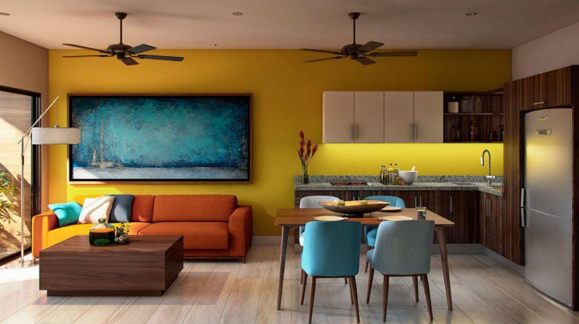 L condos playa del carmen 1 bedroom penthouse 4