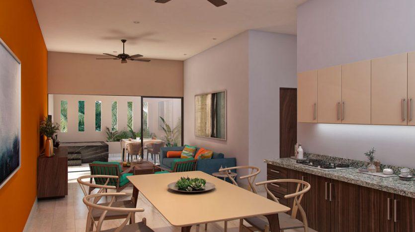 L condos playa del carmen 1 bedroom penthouse 5