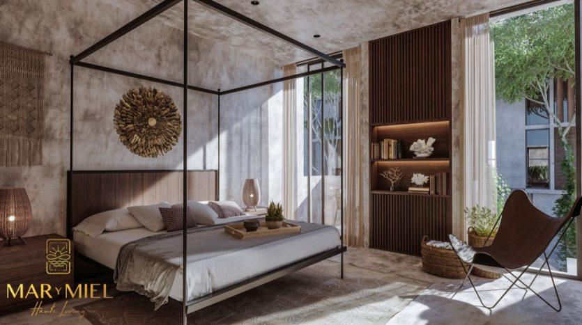 Mar y Miel Tulum 2 bedroom condo7