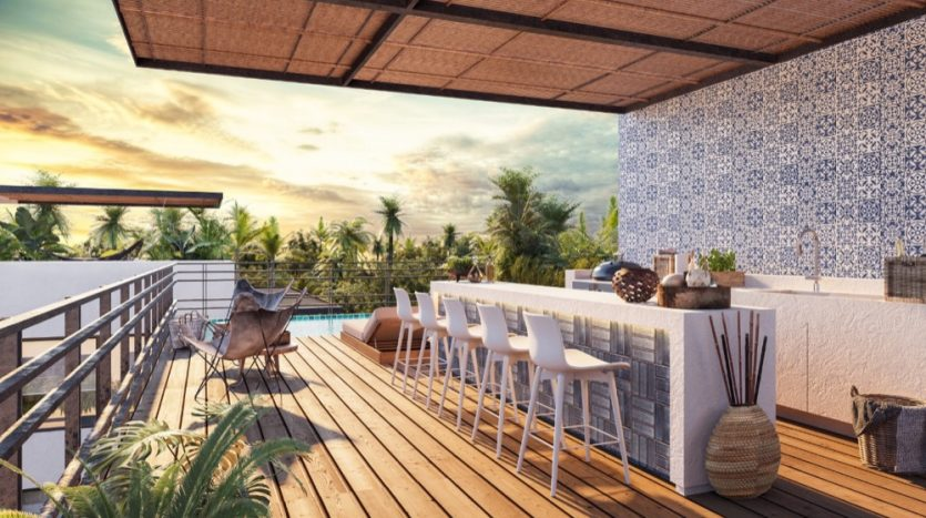 Roza Azul Tulum 1 bedroom penthouse2