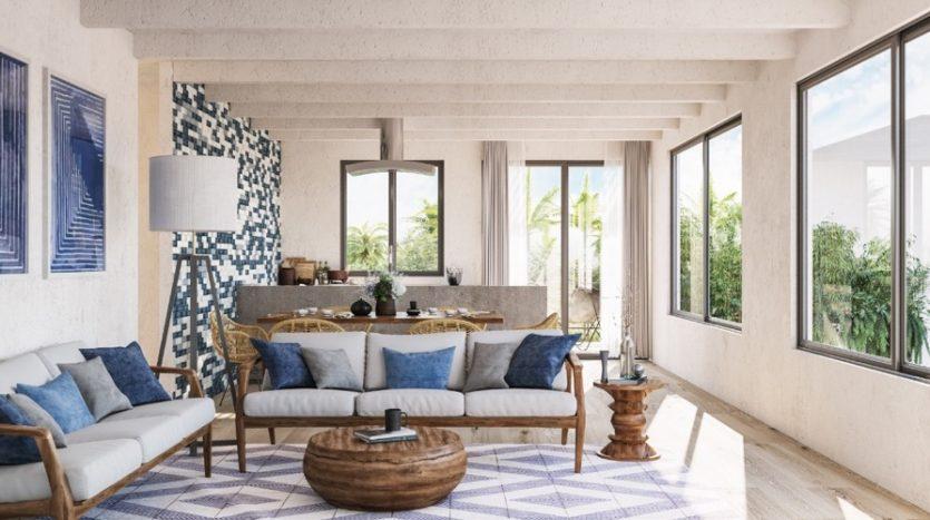Roza Azul Tulum 2 bedroom penthouse0