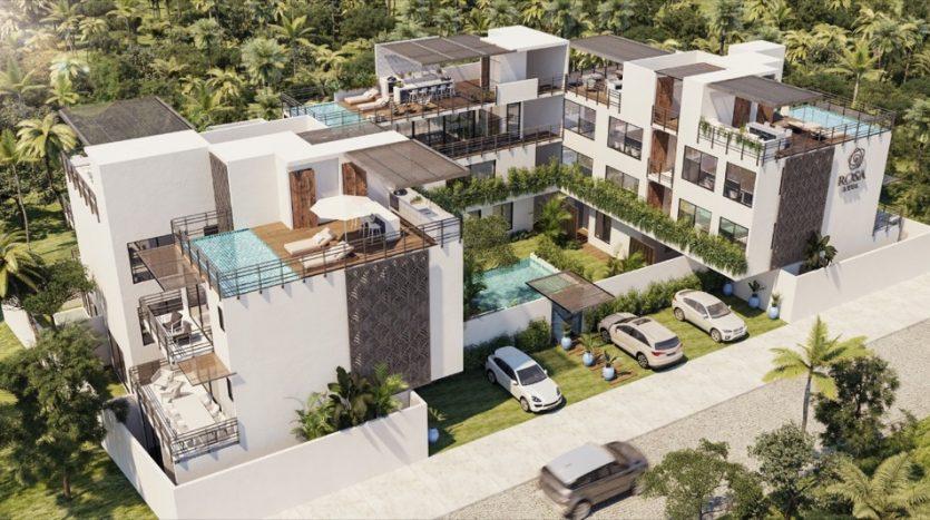 Roza Azul Tulum 2 bedroom penthouse3