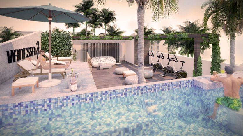 Vanessa 24 Playa Del Carmen studio1