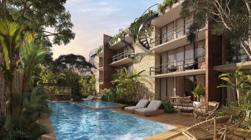 Watal tulum 1 bedroom penthouse10