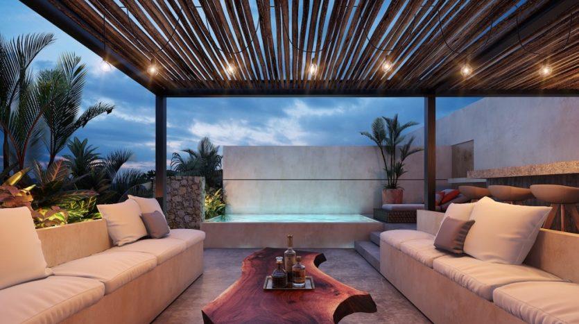 Watal tulum 1 bedroom penthouse8