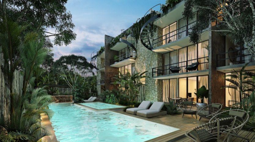 Watal tulum 1 bedroom penthouse9