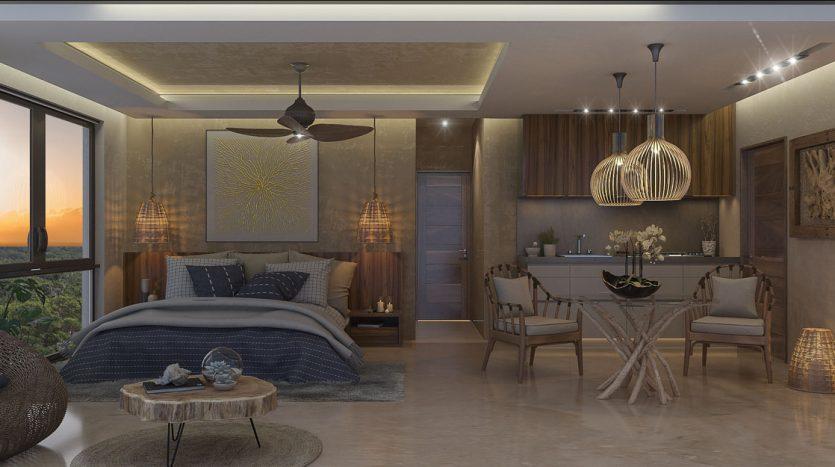 aguasanta tulum 2 bedroom condo 8