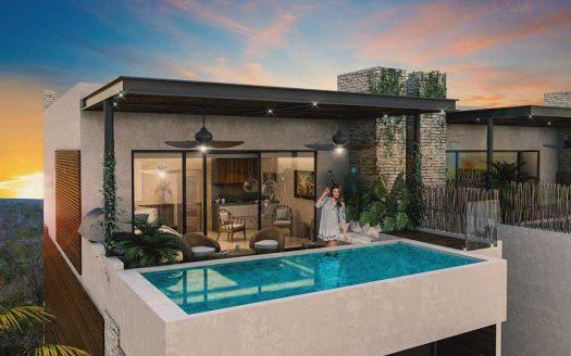 aguasanta tulum 3 bedroom penthouse 11