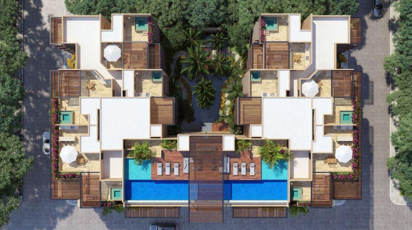 arenis playa del carmen 1 bedroom penthouse 1
