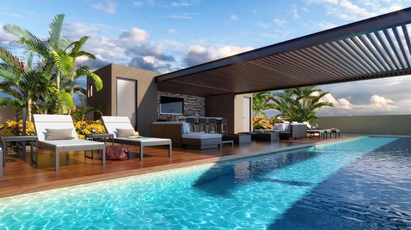 arenis playa del carmen 1 bedroom penthouse 14