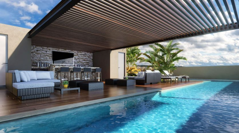 arenis playa del carmen 1 bedroom penthouse 15