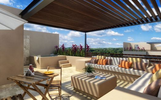arenis playa del carmen 1 bedroom penthouse 16