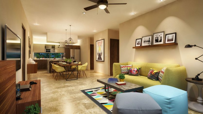arenis playa del carmen 1 bedroom penthouse 3