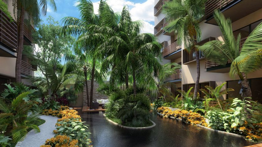 arenis playa del carmen 1 bedroom penthouse 7