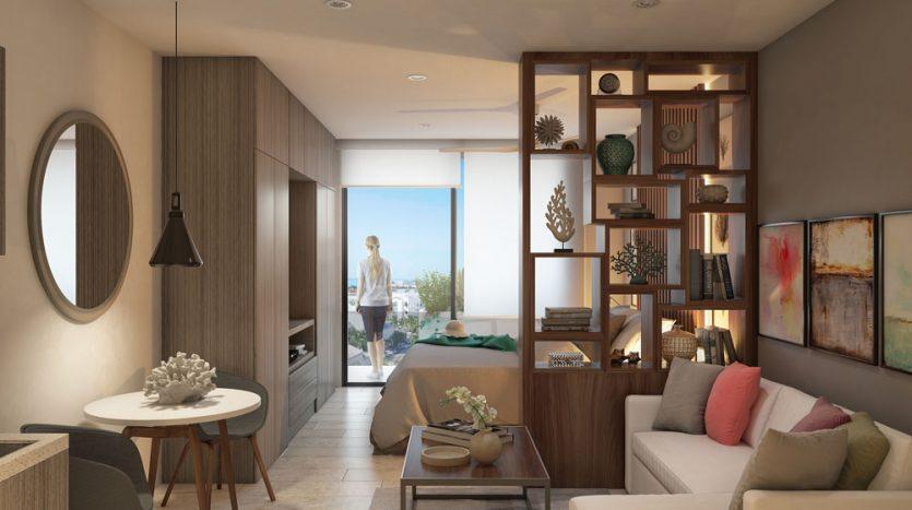 bahay playa del carmen 1 bedroom condo 6
