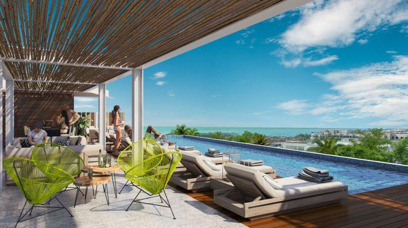 bahay playa del carmen 2 bedroom penthouse 1