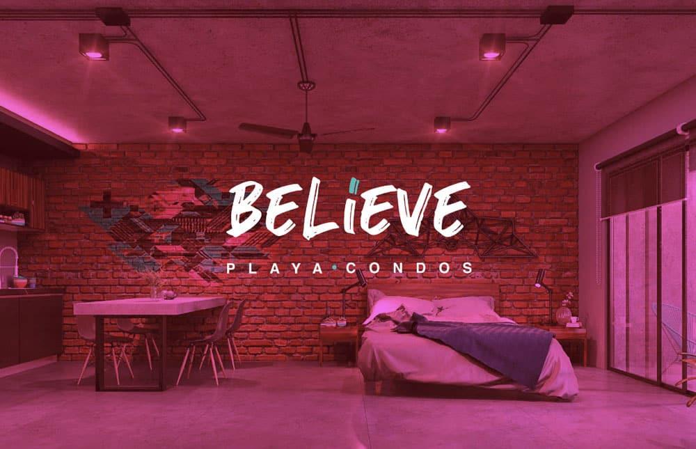 believe condos playa del carmen 7 - Believe Condos Playa del Carmen