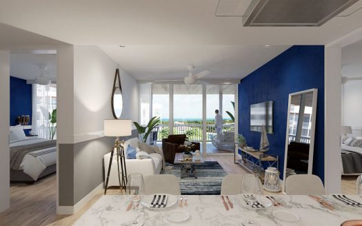 blue house marina residences puerto aventuras 3 bed ph 17